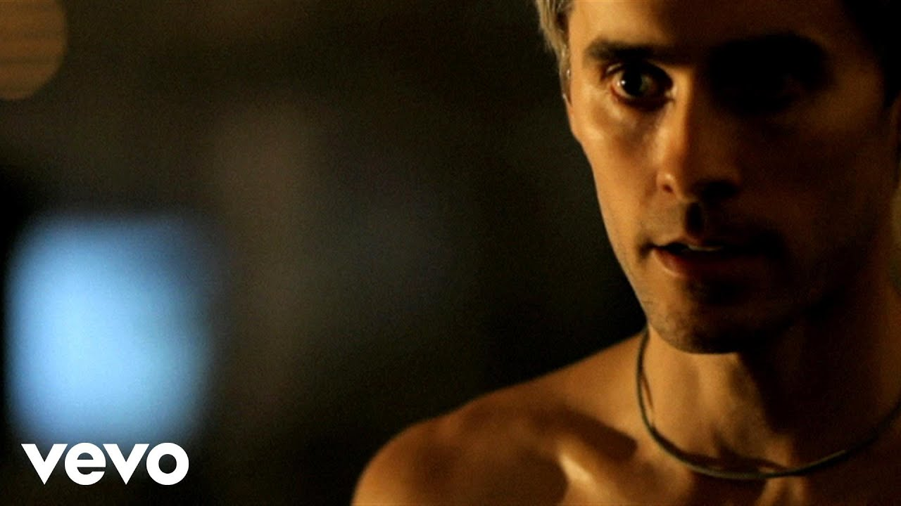 30 seconds to mars official music videos