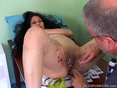 Shaved mature video