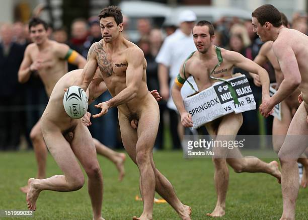 Nude south african rugby men