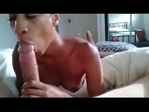Cockring in her mouth
